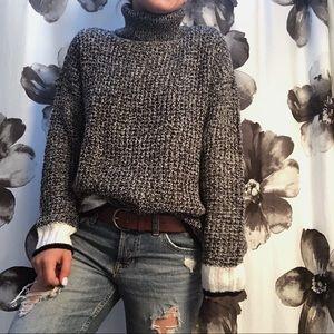 H&M turtleneck knit sweater